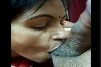 केरल की मल्लू भाभी ने पति का लण्ड एवं आंड चूसे