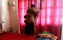 होर्नी भाभी और उसके देवर का मस्त 69 सेक्स वीडियो