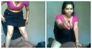 गोरी मल्लू बीवी की काले पति से चुदाई