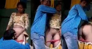 दोपहर में देहाती पड़ोसी लड़की की बुर चाटकर की चुदाई