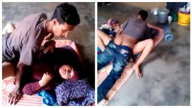 रंडीबाजी में लगी अपनी बहन आएशा को चुदते हुए भाई ने रंगेहाथों पकड़ा
