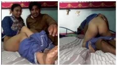 पाकिस्तानी पठान ने अपनी बेगम को अपने लंड पर बिठाया