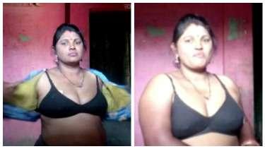 पड़ोस वाली आंटी ने ब्लाउज खोलकर दिखाई अपनी काली ब्रा