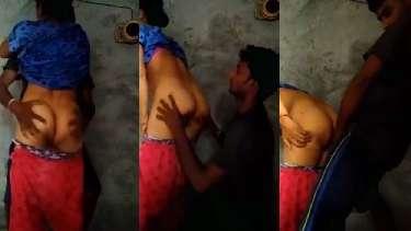 गाँव की देहाती भाभी की गोरी गांड चाट के उसके लवर ने अंदर कर दिया अपना लंड. देखें विलेज की भाभी की गांड चाट के चोदने की एनाल सेक्स वीडियो.