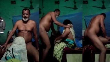 मुस्लिम अंकल का लंड चूसा और टाँगे उठा के चुदी लोकल रंडी - वीडियो